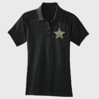 Womens Tactical Dryfit Deputy Polo